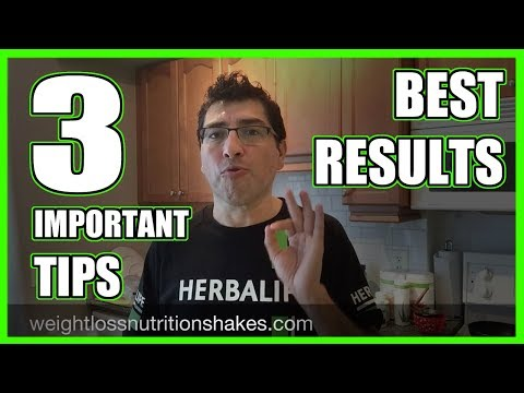 How to LOSE WEIGHT with 💚 HERBALIFE Products 3 Tips for Best Results 👌🏼😄