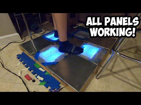 DIY Velostat DDR Pad - Speed of Light