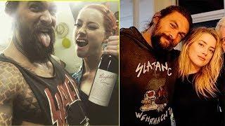 Amber Heard and Jason Momoa (Aquaman 2018)