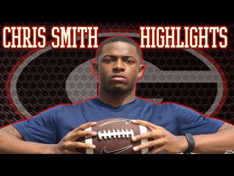 THIS UGA COMMIT IS UNREAL!! Christopher Smith Highlights  Hapeville Charter