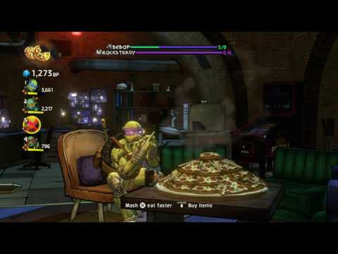 TMNT Mutants In Manhattan Boss - Bebop and Rocksteady VERY HARD 4 Player Co-Op