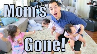 Mom's Gone! - March 06, 2015 -  ItsJudysLife Vlogs