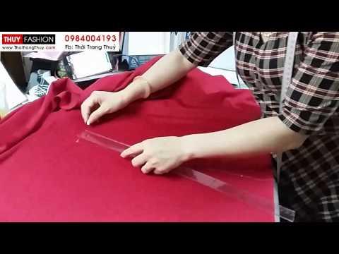 Thiết kế chân váy xoè xếp ly tại Thời Trang Thuỷ