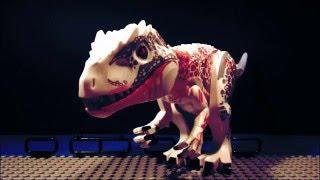 lego indominus rex vs t rex jurassic world animation full hd