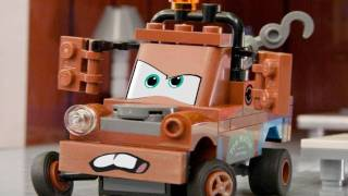 Official Cars 2 trailer in LEGO