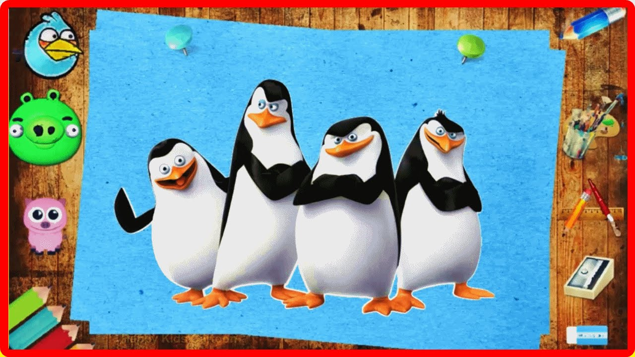 the penguins of madagascar magic pencil coloring book for kids