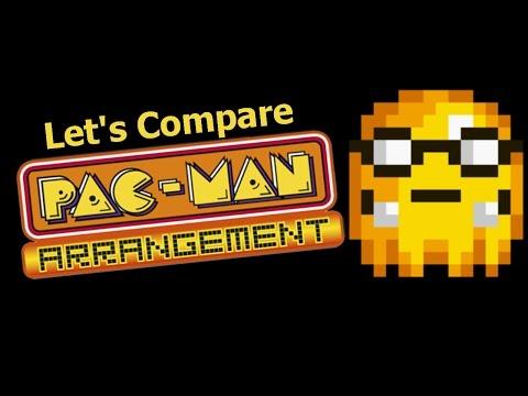 Let's Compare  ( Pac-Man Arrangement )