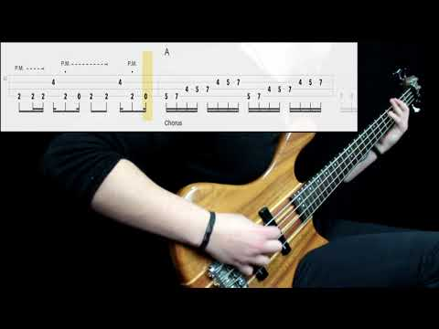 Led Zeppelin - Immigrant Song (Bass Only) (Play Along Tabs In Video)