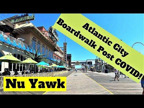 Atlantic City Boardwalk Post COVID