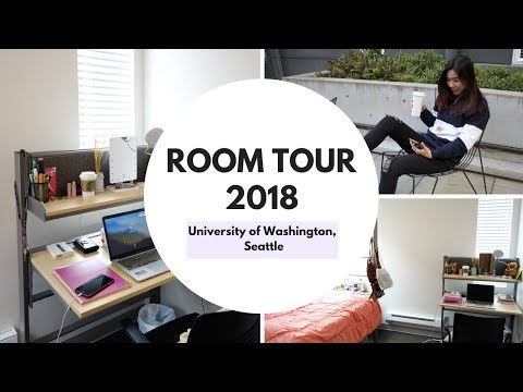 Room Tour 2018// University of Washington, Seattle
