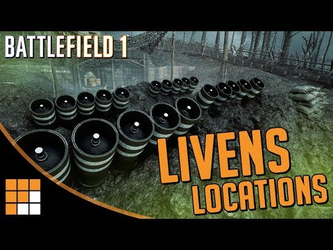 LIVENS PROJECTORS: All Map Locations, Timers, Strategies for Battlefield 1 Apocalypse DLC