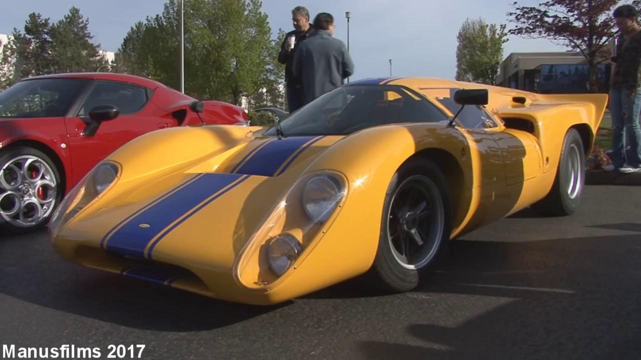 Alfa Romeo 4C >> Lola T70 Replica In Detail - YouTube
