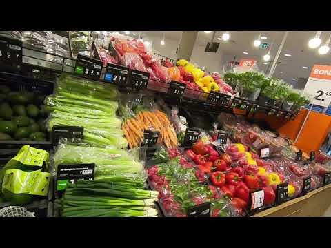 How is grocery shopping in Dutch Supermarket (Albert Heijn in Amsterdam, Netherlands 🇳🇱)? - Part 1