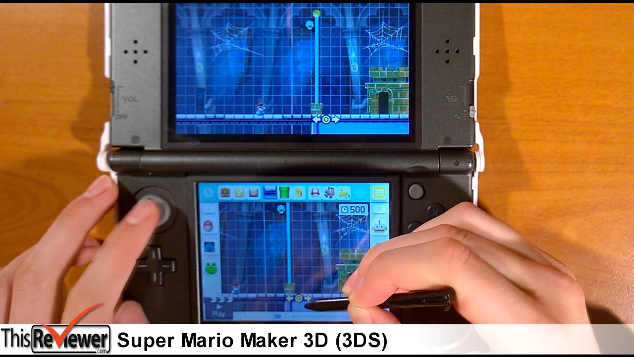 Download Nintendo Super Mario Maker 3DS Review