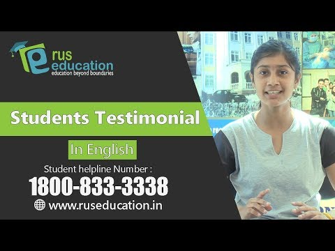 Know why student of Perm State Medical University recommends Rus Education