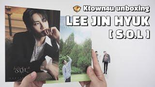 """Unboxing LEE JIN HYUK """"S.O.L"""" solo album, 이진혁 언박싱 Kpop Ktown4u thumbnail"""