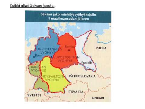 Kylmä sota   Yhdysvallat vastaan Neuvostoliitto