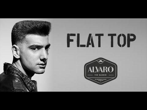 Corte de cabello flat top