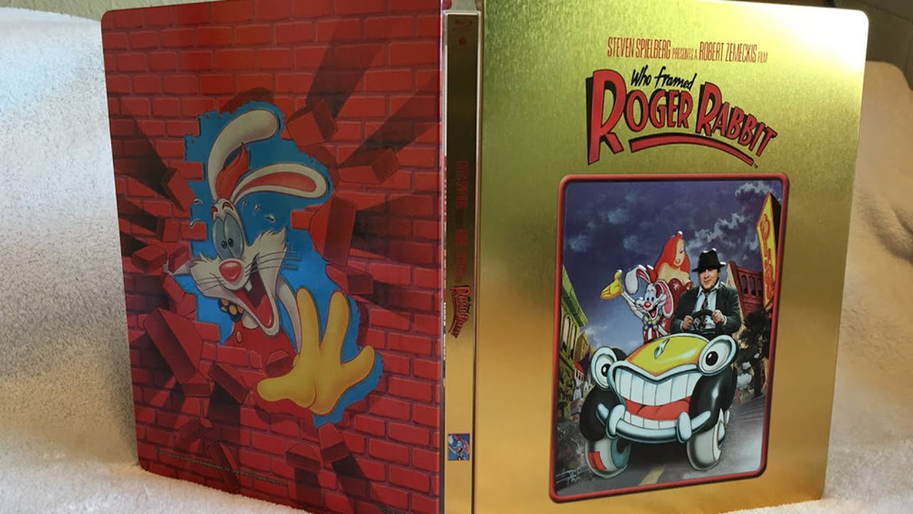 Enchanting Who Framed Roger Rabbit Blu Ray Ensign - Picture Frame ...