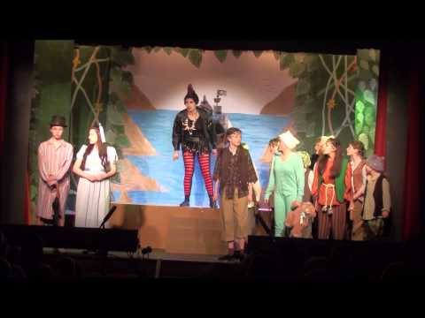 Stephen Hill Youth Pantomime Peter Pan 2014