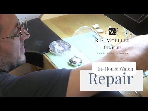In-House Watch Repair at R.F. Moeller Jeweler