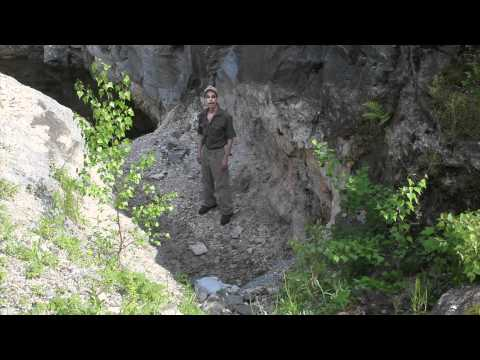 Songo Pond Aquamarine Gem Quarry Mine  Albany Maine Van King.mov
