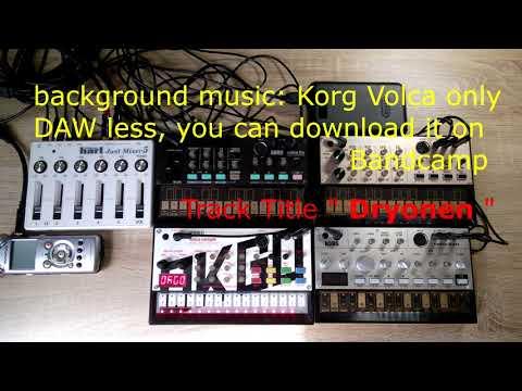 best Mixer for Korg Volca? Hart Just Mixer 5 Unboxing and Jam