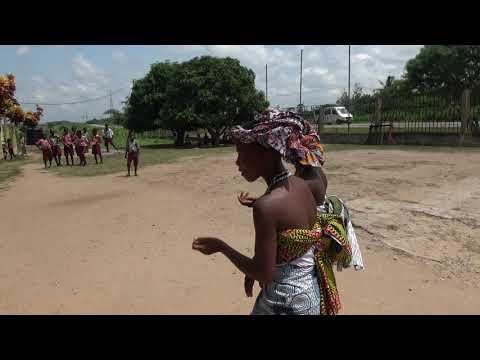 Welcome Presentation at Akoma Academy - Ghana Tour May 2017
