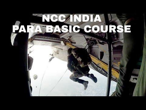 PARA BASIC COURSE | FIRST JUMP | NCC INDIA