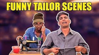 Funny Tailor Scenes | Hyderabadi Comedy | Warangal Diaries