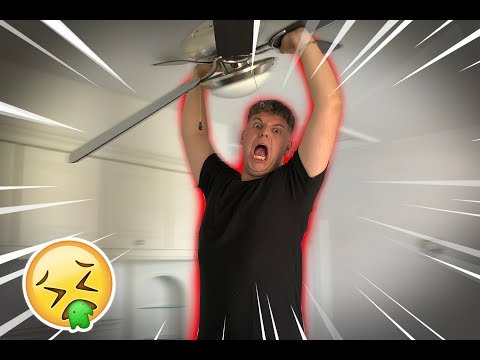 I SUPERGLUED MY BRO TO A CEILING FAN!