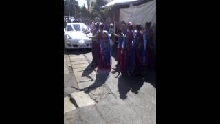 Mauritian indian wedding entrance!!
