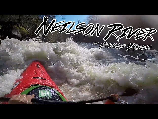 Gladiator 2.0 on the Neilson River, QC with Etienne Beland