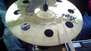 sabian hhx 20 evolution o zone crash cymbal