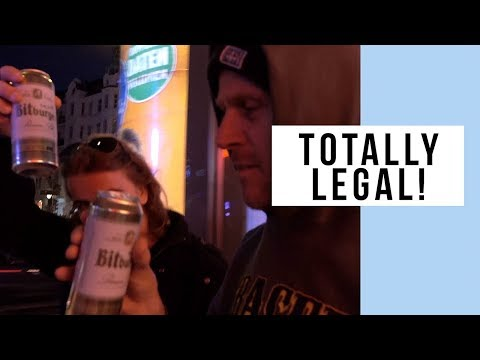 Street Drinking Is Legal In Germany!