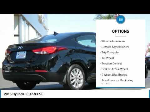 2015 Hyundai Elantra Huntington Beach CA 18027A
