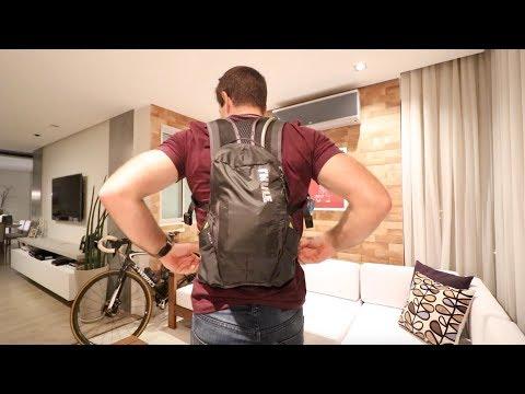 Speed + Review da Mochila de hidratação Thule Vital 3L | Vlog 440