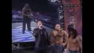 WCW Thunder Kevin Nash Blood Spill Miss