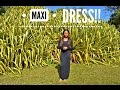How to Make a Long Sleeve Maxi Dress