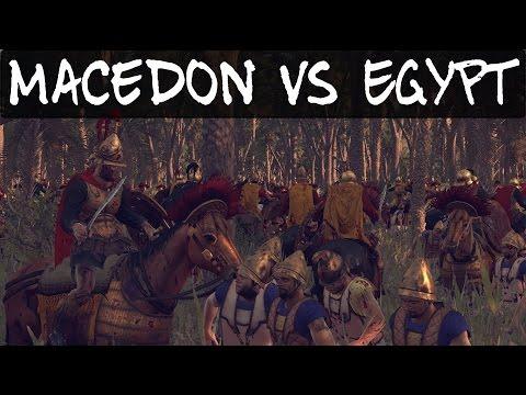 Total War Rome 2 Online Battle 129 Macedon vs Egypt |