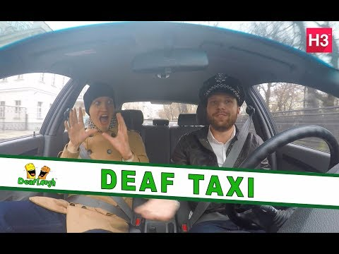 DeafLaugh - Episodes 3: Wild ride with Deaf taxi driver!