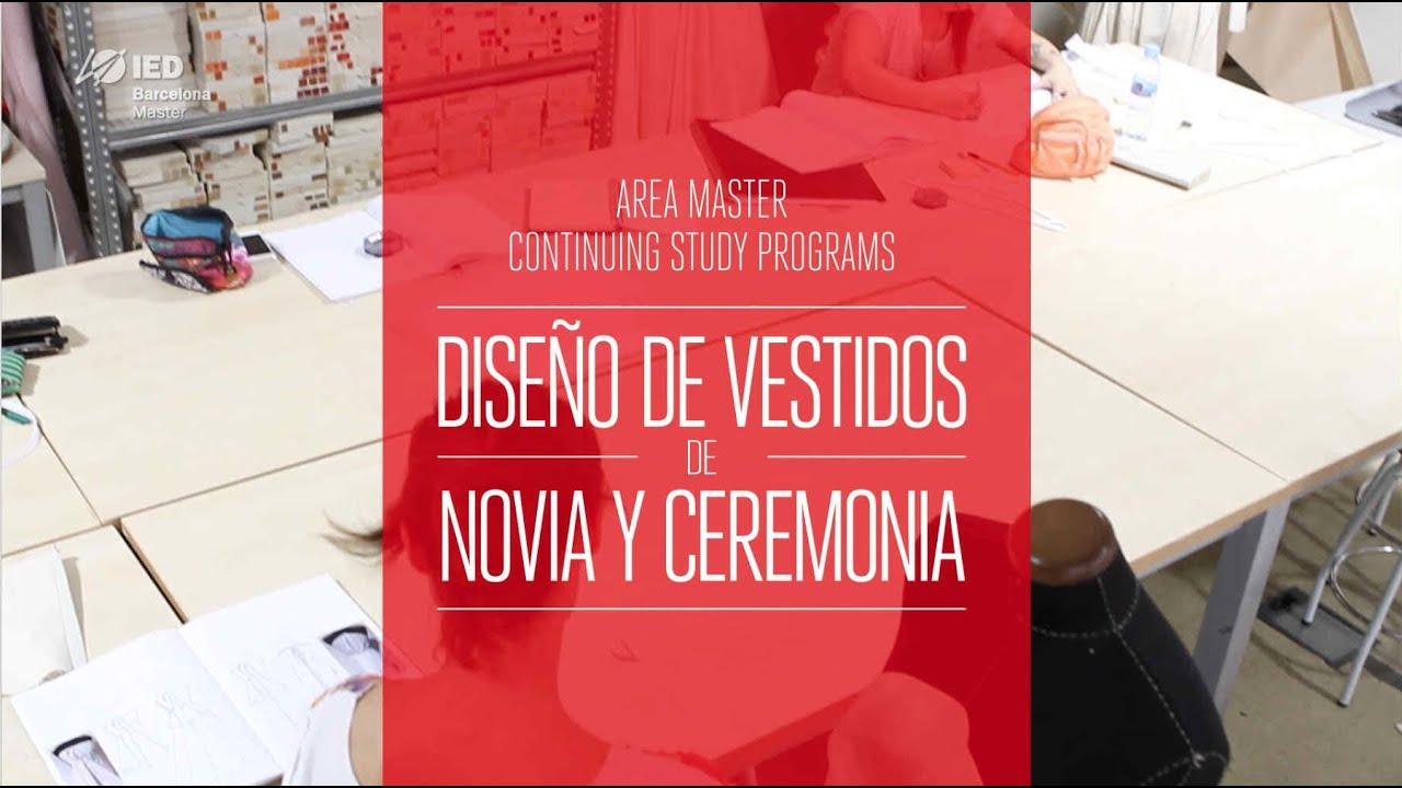 CSP en Diseño de Vestidos de Novia y Ceremonia - IED Barcelona ...