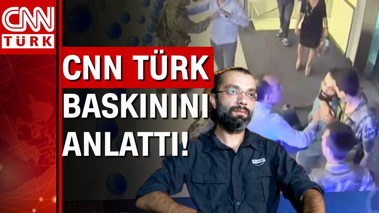Download CNN Türk kameramanı Akpolat, 15 Temmuz gecesi yaşadığı o anı anlattı! CNN Türk baskını!