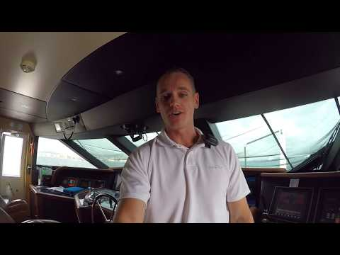 Captain's VLOG 1. Life onboard a luxury SuperYacht