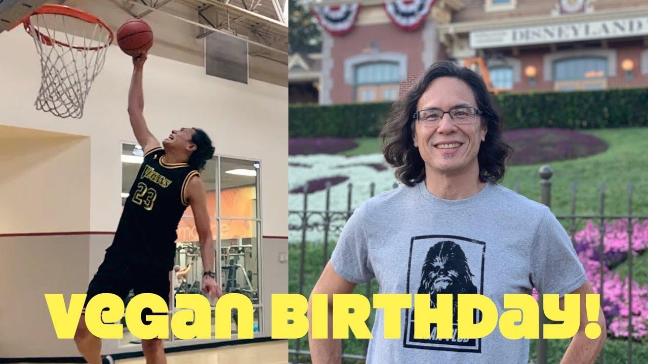 How A 52 Year Old Vegan Celebrates His Birthday: Dunks & Disney!