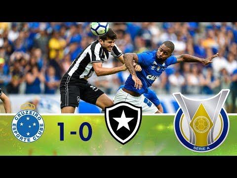 Melhores Momentos - Cruzeiro 1 x 0 Botafogo - Campeonato Brasileiro (06/05/2018)