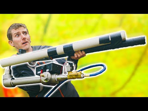 We Built a Tree-Planting Cannon #TeamTrees