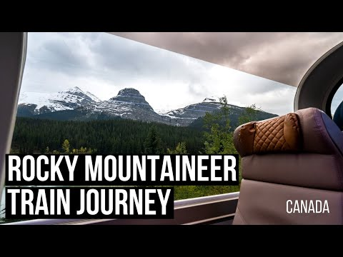 ROCKY MOUNTAINEER - Vancouver To Banff In 4 Minutes!!!