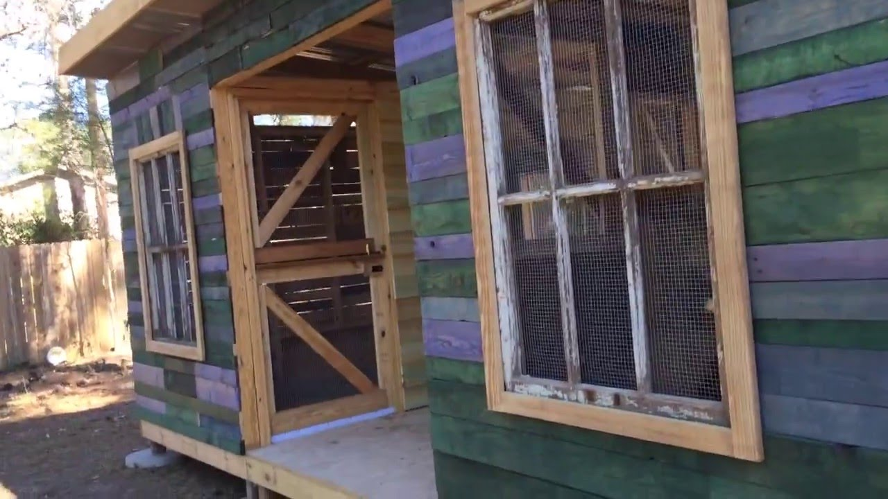 Uskichitto Retreat Center Chicken Coop And Goat Barn