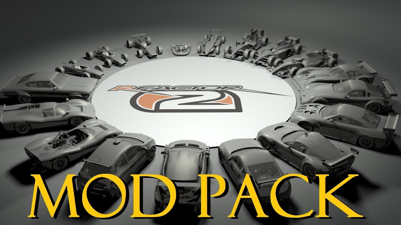 rFactor 2 Mod Pack - how to install Cars, Maps (ALL MODS in ONE Package)  (2013 2014) modifcations